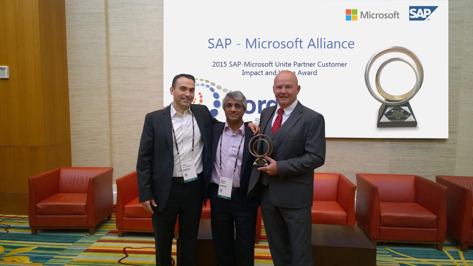 Sapphire Now 2015 Innovation award