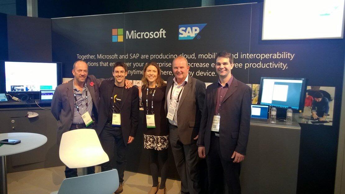 SAP Tech event in Barcelona 2015