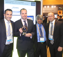 Innovation Award Cordis Solutions